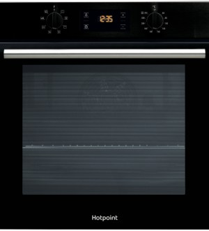 Hotpoint Class 2 Built-In Black Single Oven | SA2 540 H BL