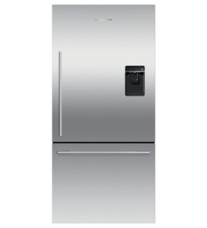Fisher & Paykel 79cm Fridge Freezer with Ice & Water | Right Hinge | RF522WDRUX5