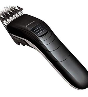 Philips family hair clipper  Stainless steel blades 11 length settings Corded use | QC5115/13