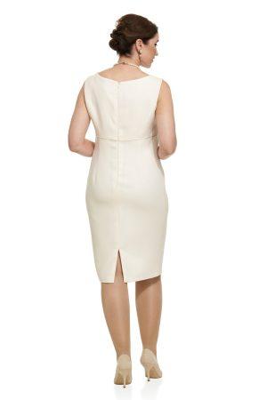 Contemporary Wool Coat and Short Sheath Dress