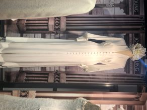 bespoke vintage wedding gown, virtual