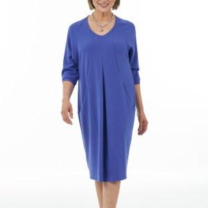 Bluebell V neck dolman sleeve dress-Main