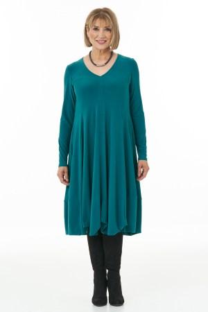 Jade Long sleeve knit bubble dress