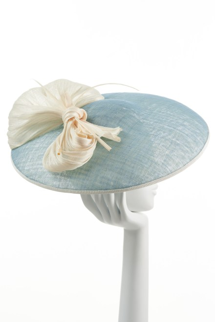 Blue Large Bow Hat
