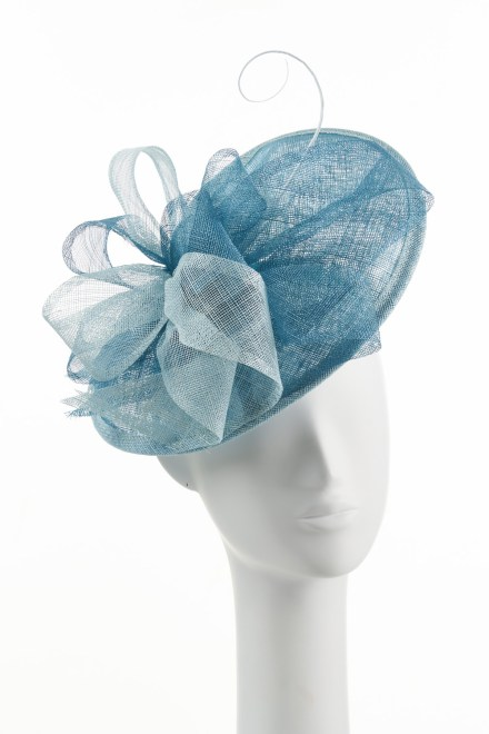 Small Twister Hat in Mint and Sea Breeze