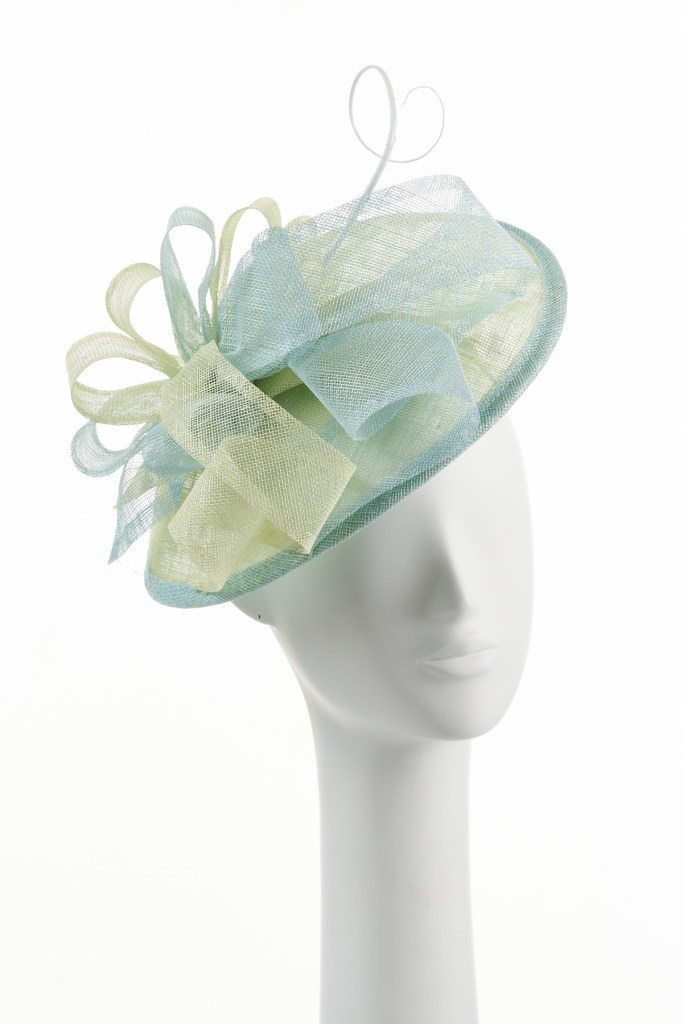Pistachio and Mint Small Twister Hat