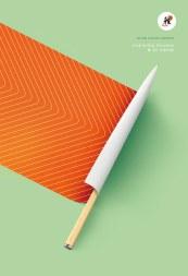 Miyabi Knives – Long Lasting Sharpness campaign created by Paris, France based studio Herezie.