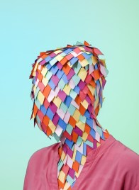 Paper Mask by Camille Marteil