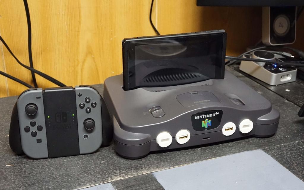Nintendo 64 Switch Dock Would Nintendo do something like this?
