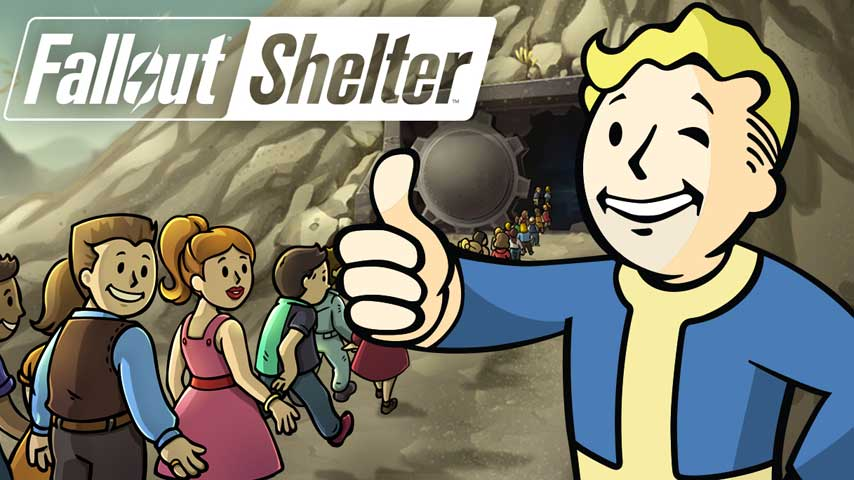 Fallout Shelter launching on Switch