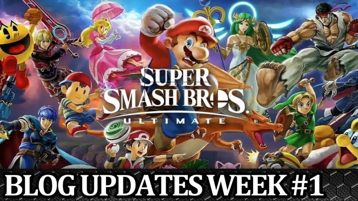 Super Smash Bros. Ultimate Weekly Blog Episode #1