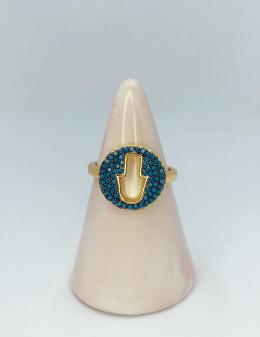 anillo mano de fátima