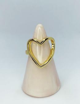 anillo de corazón