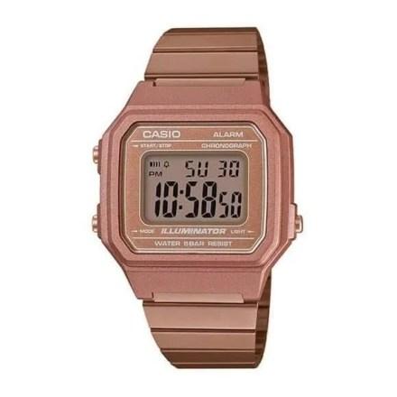 Reloj Casio B650WC-5AEF Unisex NEW con caja y correa de resina cobre nuevo modelo Casio Collection