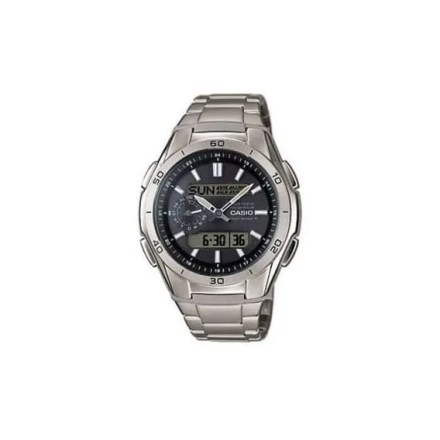 Reloj Casio WVA-M650TD-1AER de hombre NEW con caja y brazalete de titanio Radio-Controlado 2015