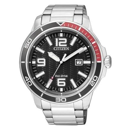 Reloj Citizen AW1520-51E de hombre NEW con caja y brazalete de acero Marine Eco-Drive 2016