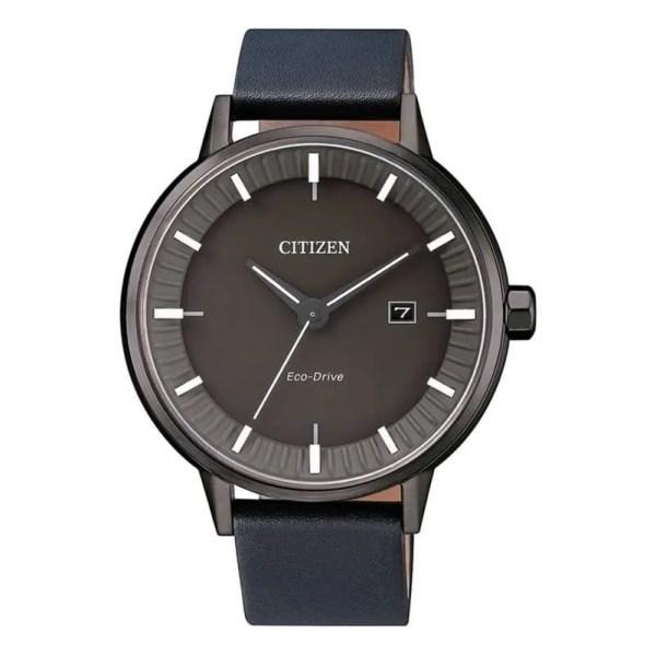 Reloj Citizen BM7377-12X de hombre NEW con caja de acero ip marrón y correa de piel Eco-Drive