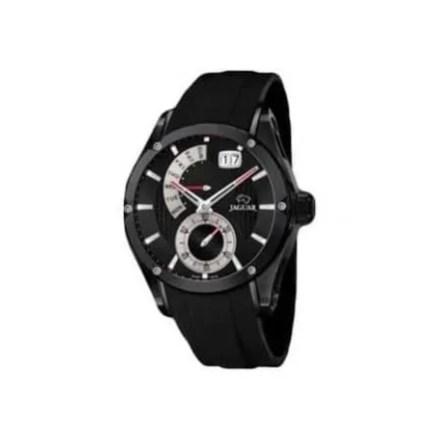 Reloj Jaguar J681/2 de hombre NEW con caja de acero ip black y correa de caucho Edición Limitada