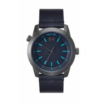 Reloj Mark Maddox HC0102-57 de hombre NEW con caja de acero y correa de piel colección Mission