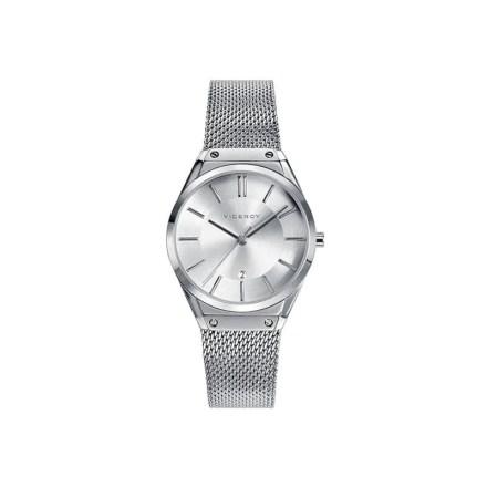 """Reloj Viceroy 42234-07 de mujer NEW con caja y brazalete de acero malla """"milanesa"""""""