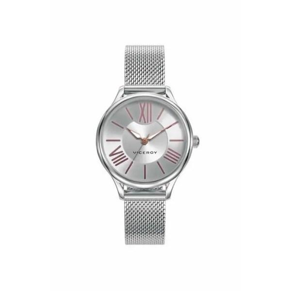 Reloj Viceroy 461086-03 de mujer NEW con caja de acero y brazalete de acero malla milanesa analógico