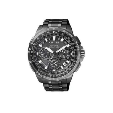 Reloj Citizen CC9025-51E de hombre NEW con caja y brazalete de Super Titanium Black DLC Satellite Edición Especial