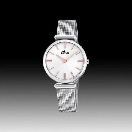 Reloj Lotus 18538/1 de mujer NEW con caja y brazalete de acero malla milanesa Bliss