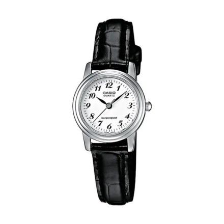 Reloj Casio de hombre MTP-1236PL-7BEF clásico con caja de latón y correa de cuero