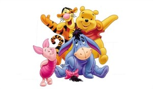 charm winnie pooh