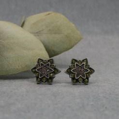 flor de loto pendientes