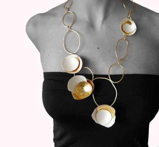 Maria Solorzano - Collar des oeufs
