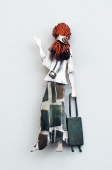 Amy - Frontera - Plata, cobre, bronce, alpaca, shibuichi