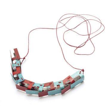 Ana Weisz - ... fijar lo errante, desatar lo fijo... Collar