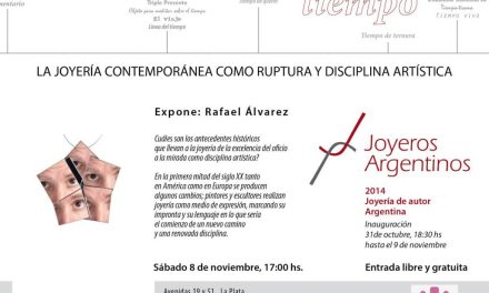 Charla: La joyería contemporánea como ruptura y disciplina artística, por Rafael Alvarez