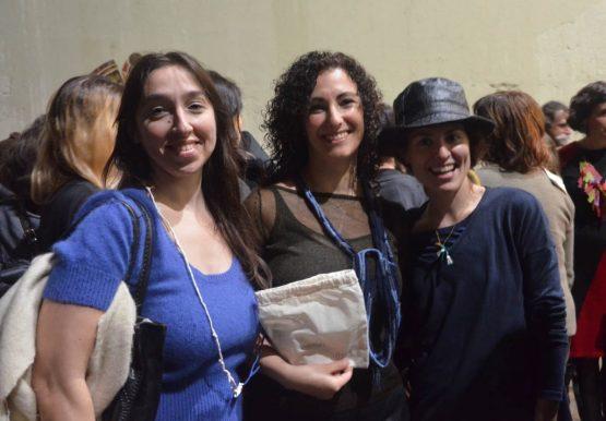 Patricia Gallucci, Andrea ganadora de Ojalá, y Sabina Tiemroth