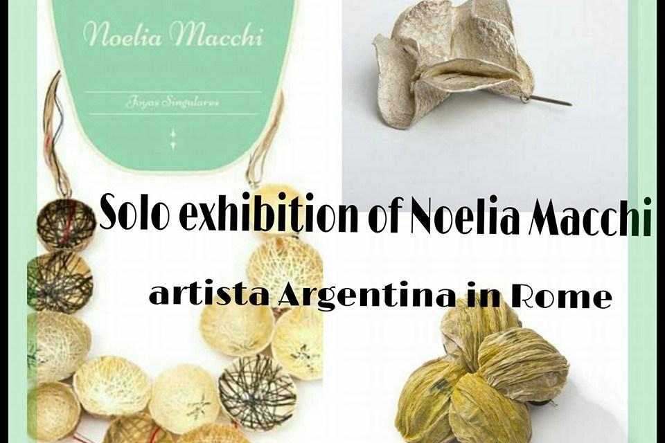 Exposición de Noelia Macchi en Roma