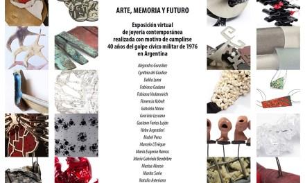 Invitación a la exposición virtual «40 años – arte, memoria y futuro»