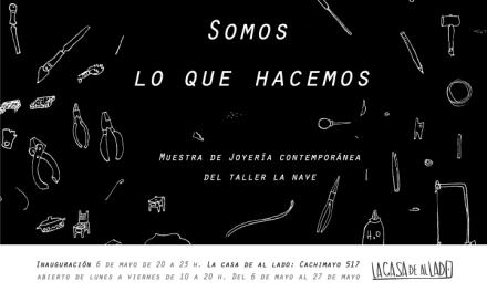 """Somos lo que hacemos, exposición del taller """"La Nave"""", de Jorge Castañón"""