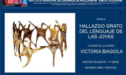 Conferencia de Vicky Biagiola en el IMCA de Avellaneda