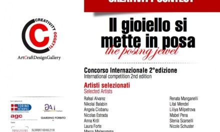 """Rafael Alvarez y Mabel Pena seleccionados en concurso de creatividad """"Il gioiello si mette in posa"""" (Italia)"""