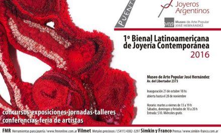 ¡¡¡Llegó el día!!! Inauguración de la Bienal y jornadas de joyería contemporánea