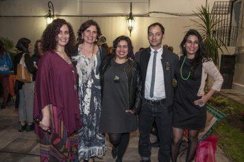 Laura Giusti, Paula Isola, Rita Soto (Chile), Caco Honorato (Chile) Joyce Seguel (Chile)
