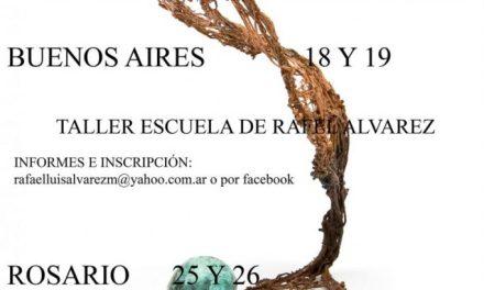 Talleres de electroformado en Cordoba, Buenos Aires y Rosario, por Rafael Alvarez