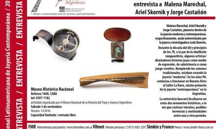 Diseñar rompiendo el molde: entrevista pública a Malena Marechal, Ariel Scornik y Jorge Castañón, en el marco de la Bienal