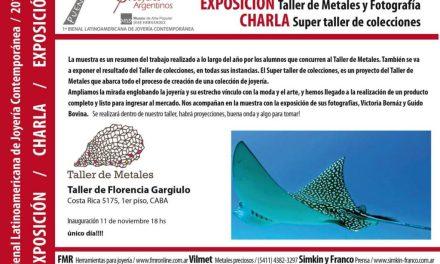 Exposición y charla en Taller de Metales, en el marco de la Bienal
