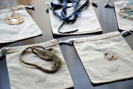 piezas semilla, sorteadas en munich 2015, durante la exhibición en Café Clara