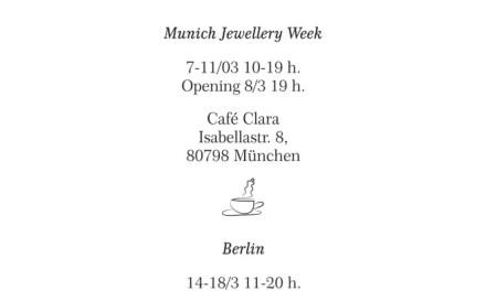 Mañana inaugura OJALA en Berlín!!