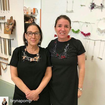 Bryna Pomp y Hebe Argentieri