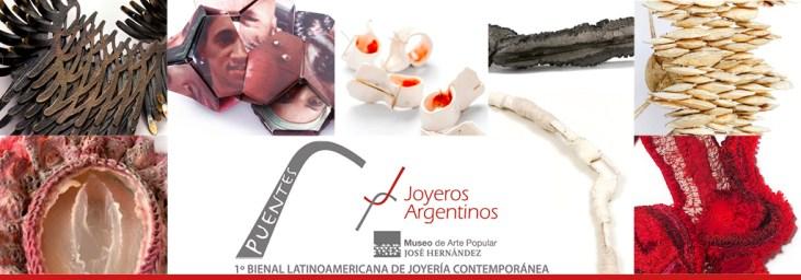 """Primera Bienal Latinoamericana de Joyería Contemporánea """"Puentes"""""""
