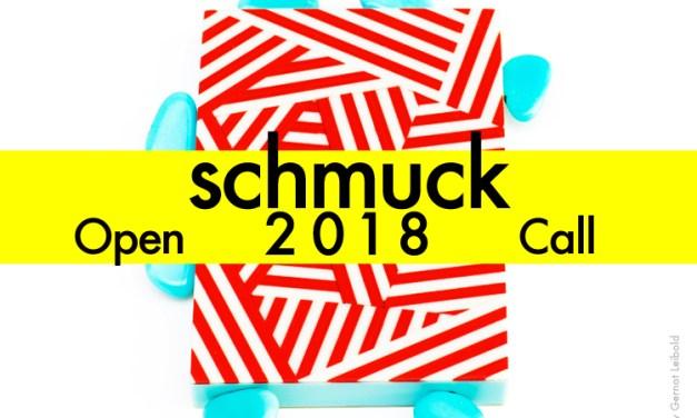 Convocatoria: Schmuck 2018